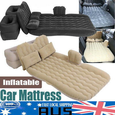 Inflatable Car Back Seat Mattress Protable Travel Camping SUV Air Bed Rest Sleep