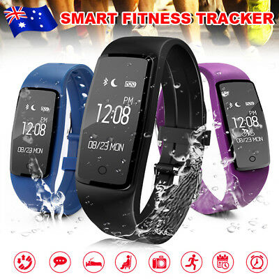 Waterproof S1 Smart Bracelet Heart Rate Monitor Kids Sport Watch Fitness Tracker
