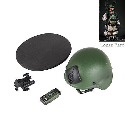 "DAMTOYS 78060 1:6 2018SHCC NAVY SEAL Helmet night vision model F 12/"" Male Figure"