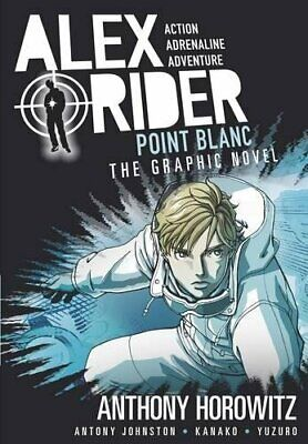 Point Blanc Graphic Novel (Alex Rider) by Horowitz, Anthony Book The Cheap Fast
