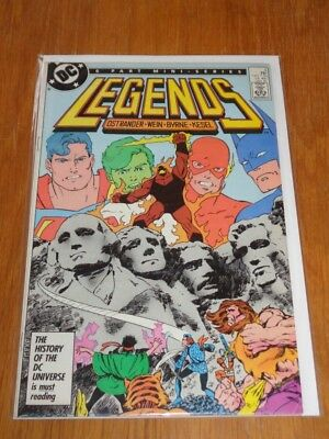 Legends #3 Dc Comics January 1987 1St Suicide Squad