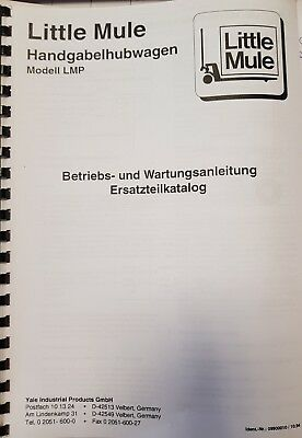 Operational and Maintenance Manual Incl. Spare Parts Catalog Little Mule Lmp