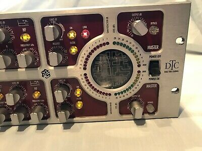 Mindprint DTC Dual Tube 2 channel high-end mastering preamp EQ valve compressor