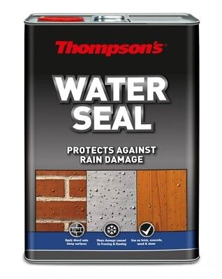 Thompson's Water Seal - Brick Concrete Stone Wood Protection - 5L