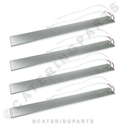 4 X Heating Elements Flat Bar Fits Henny Penny Hcw Hcw3 Hcw5 Hcw8 Hp22648 22648