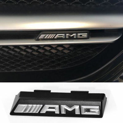 Logo AMG Emblema Frontal  front grill kuhlergrill kühlergrill Mercedes Benz ABS