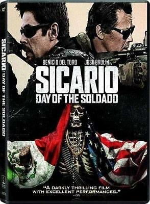 2018 Sicario Day Of The Soldad Movie DVD Box Set Hit Cinema Film New  Free P&P