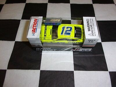 Ryan Blaney #12 Menards Darlington 2018 Fusion NASCAR Action 1:64 scale car NIP