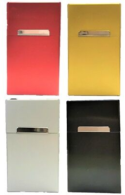 Eclipse Durable Metallic Crushproof Aluminum Cigarette Case, 100s, 3119