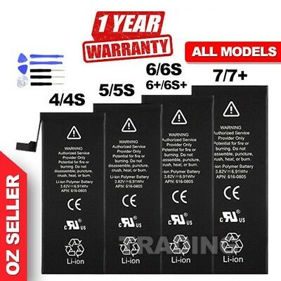NEW High Capacity OEM Battery Replacement for iPhone 5 5C 5S 6 6S 7 Plus CA