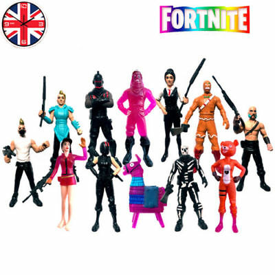 12Pcs Fortnite Battle Game Royale Save The World Action Figures Kids Toy Gift UK