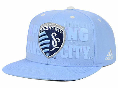 2cf20645eea Sporting KC Kansas City Soccer Club Adidas MLS Academy Snapback Cap Hat One  Size