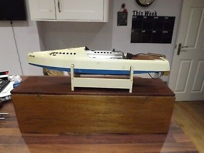 Hobbies Bowman Snipe Live Steam Boat Model Vintage wooden box