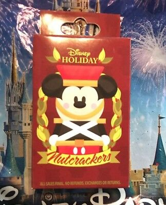 Disney Nutcrackers Holiday 2018 Mystery Pin Box With Two Pins New Nutcracker