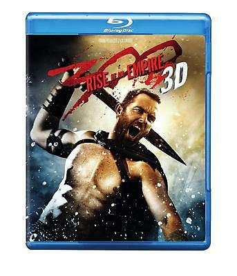 300: Rise of an Empire 3D (Blu-ray/DVD, 2014, 3-Disc Set)