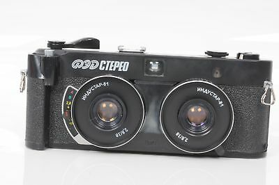 FED Stereo Camera (35mm Film)                                               #061