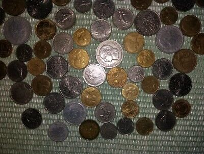 Large Collection Of French Vintage Mixed Coins-France Biggest Group/lot Of Coins