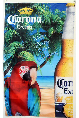 Corona Extra Miles Away From Ordinary Premium 3X5FT vertical Banner Flag 1f1f15bd778b