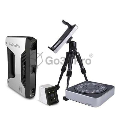 [Handheld 3D Scanner] EinScan-Pro with Industrial Tripod, Turntable & Color Pack