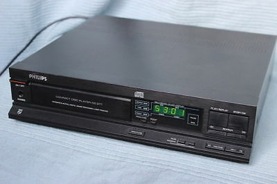 Philips CD371 CD player.