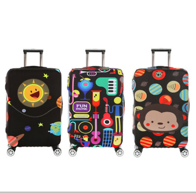 "18""-32"" Elastic Luggage Protector Dustproof Travel Protective Suitcase Cover Bag"