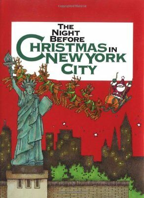 The Night before Christmas in New York City (Nig... by Morrone, Francis Hardback