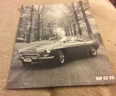 Vintage MGB Convertible photo vintage print