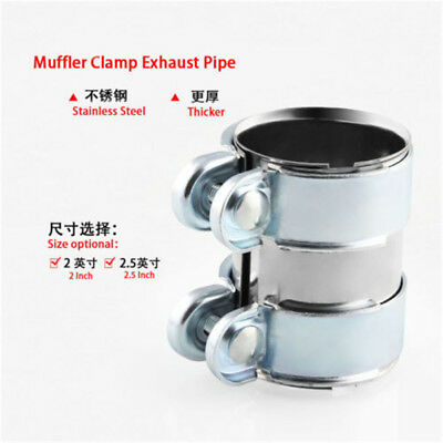 Stainless Steel Turbo Exhaust/Downpipe/Catback/Muffler Pipe/Flanges/Clamp 2.5''