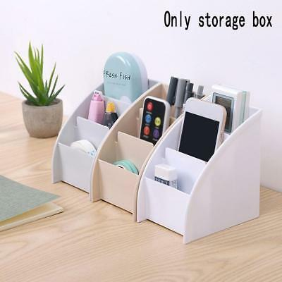 Plastic Desk Table Storage Box Organizer Box Stationery/Makeup Office Small Case