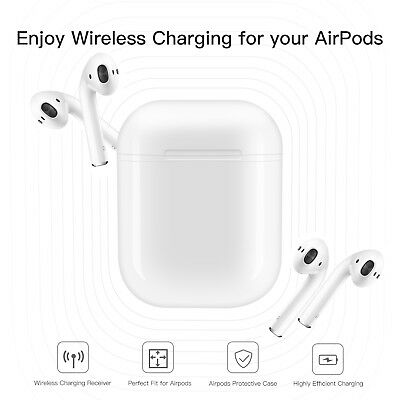 Qi Wireless Charging Protective Box Case For Air Pods Lightweight And Portable