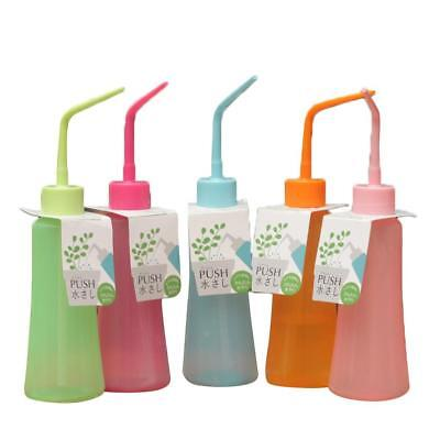 Plant Succulent Squeeze Watering Bottle Plastic Bend Nozzle Spraying Can Bottle