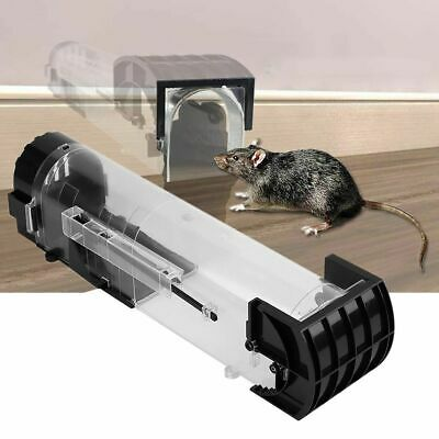 Catch Mouse Humane Safe Self Catching Metal Trap Mice Mousetrap Control Bait