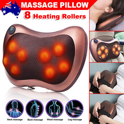 Shiatsu Massage Home Car Pillow Massager Neck Back Shoulder Body Relief