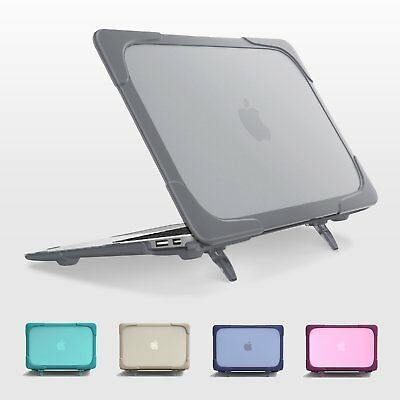 """Rubberized Hard Case Cover Heavy Duty For Apple MacBook Pro / Air 11"""" 13"""" SLEEVE"""