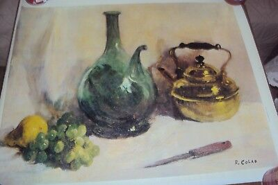 Painting Art Canvas Reproduction R Colad