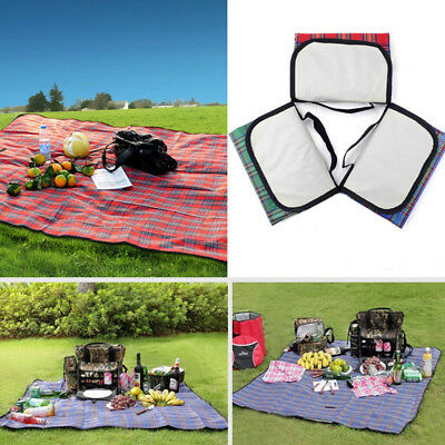 Extra Large Picnic Blanket Rug Premium Waterproof Beach Mat Outdoor Camping