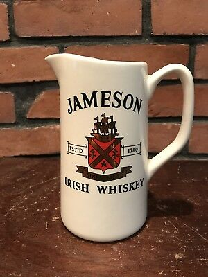 Jameson Irish Whiskey Pitcher Rare Made in Ireland by Carrigdhoun Pottery CO-Op