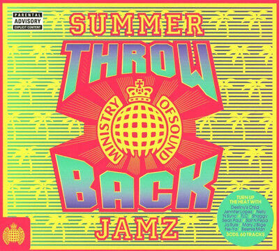 Ministry Of Sound - Throwback Summer Jamz (3 X CD)