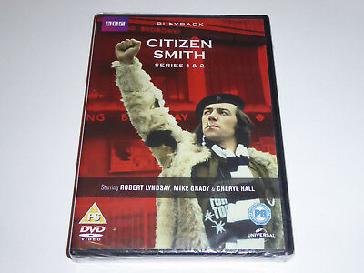 Citizen Smith - The Complete Series 1 And 2 Collection - NEW / SEALED UK DVD SET