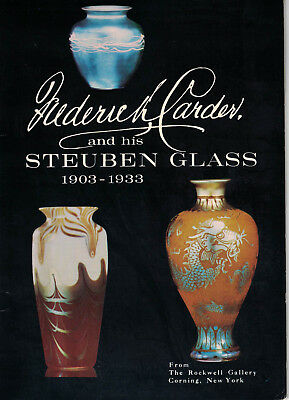 Frederick Carder and his Steuben Glass 1903-1933 by Rockwell