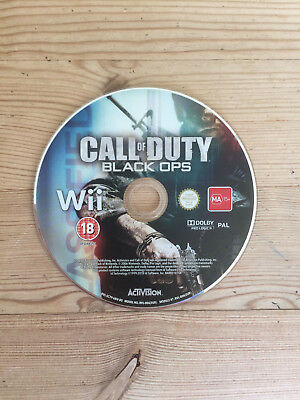 Call of Duty: Black Ops for Nintendo Wii *Disc Only*