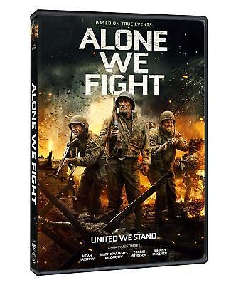 Alone We Fight (DVD, 2018) NEW FREE SHIPPING