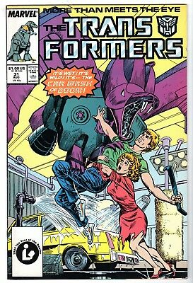 Transformers #31, Near Mint Minus Condition