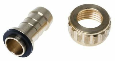 RS Pro Straight Brass Hose Connector, 1/2 in BSP Female, 25 bar