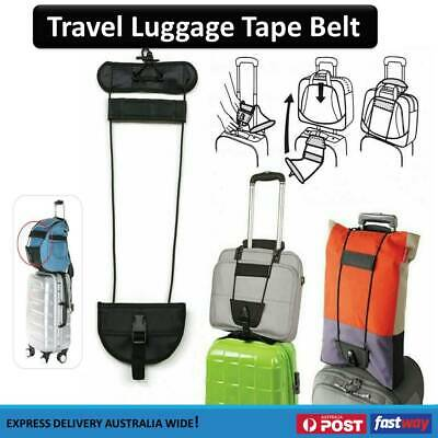 Strap Carry On Bungee Travel Luggage Suitcase Adjustable Tape Belt Bag