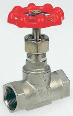RS Pro Stainless Steel Globe Valve, 1-1/4 in BSP 32 bar