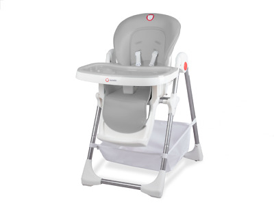 Baby Highchair Infant Adjustable High Feeding Seat With Trays Linn Plus Lionelo