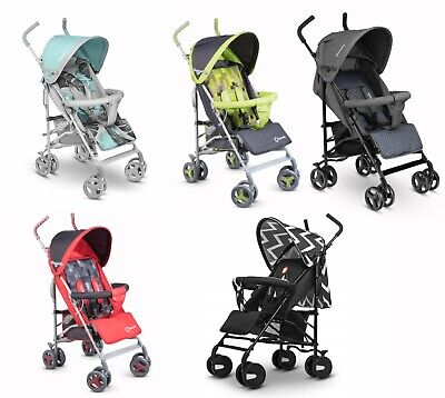 Baby Stroller Kids Pushchair Buggy With Rain Cover & Mosquito Net Elia Lionelo