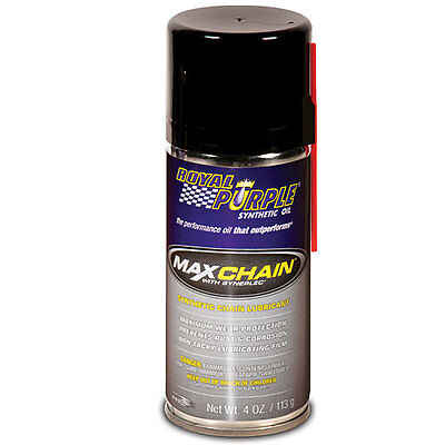 Royal Purple 11407 - Max-Chain Synthetic Chain Lubricant (4-ounce bottle)