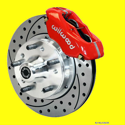 Wilwood Front Disc Brake Kit Brakes Drilled Slotted 11 Rotors Camaro Chevelle